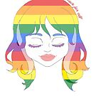Pride People - Rainbow Flag by Kyrannyx