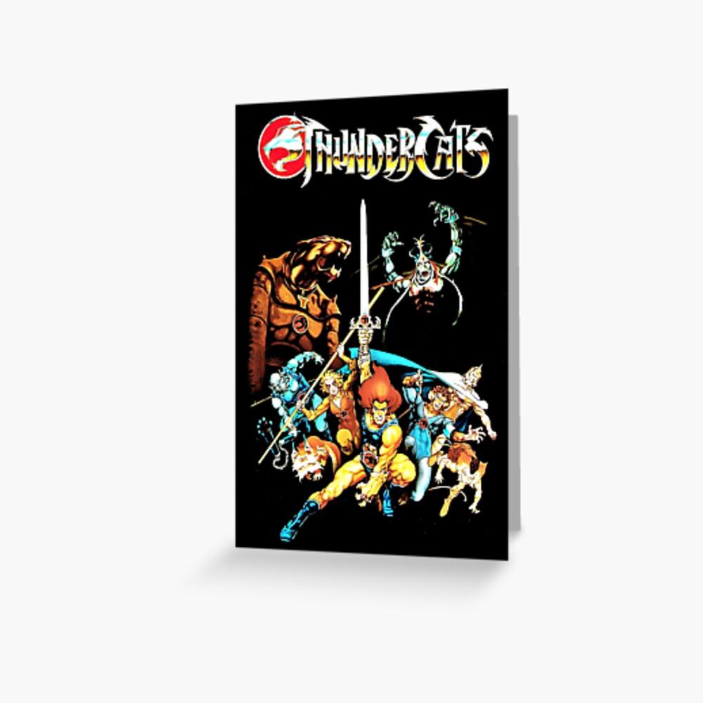 Thundercats - Das ursprüngliche Bild Grußkarte