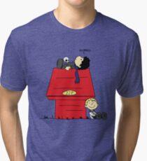 A Three Patch Problem Tri-blend T-Shirt