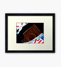 Crunch Framed Print