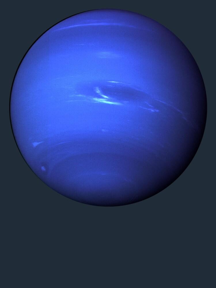 Neptune, Great Dark Spot, Voyager 2 by TOMSREDBUBBLE