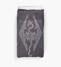Chalk Dragon Spiritit Duvet Cover