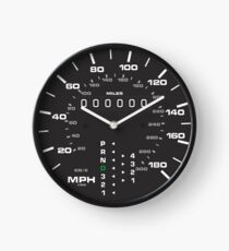 Klassisches Porsche 911 (993) Tachometer-Zifferblatt / Spurweite Uhr