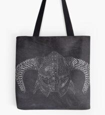 Chalk dovah hunter Tote Bag