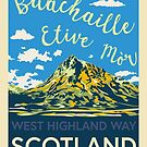 Buachaille Blue Sky by Yvie Johnson