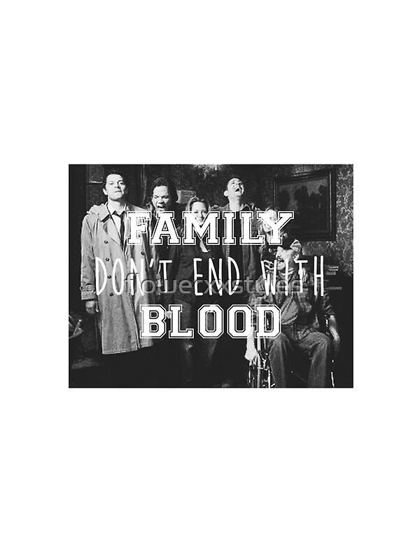 "Family End Of The Year Time Capsule: ""Family Don't End With Blood"" Stickers By Flowerxxstyles"