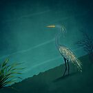 Camouflage: The Crane by Sybille Sterk