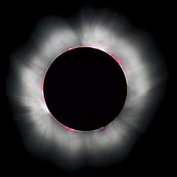 SOLAR ECLIPSE, TOTAL ECLIPSE, of the, SUN, Eclipse, Space, Planet, Earth, Moon, Sun, by TOMSREDBUBBLE