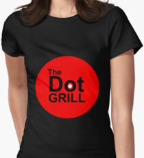 The Dot Grill Women's Fitted T-Shirt