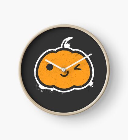 Cool Halloween Pumpkin Clock