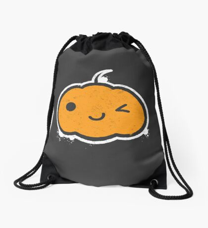 Cool Halloween Pumpkin Drawstring Bag