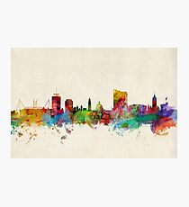 Cardiff Wales Skyline Photographic Print