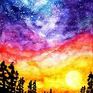 Sunset Galaxy Dream  by TigaTiga