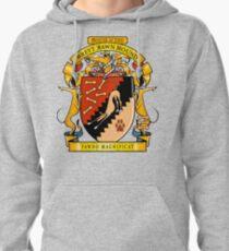 Greyhound Heraldry: Greyt Fawn Hound Pullover Hoodie