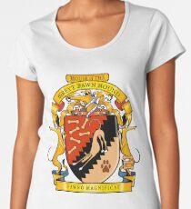Greyhound Heraldry: Greyt Fawn Hound Women's Premium T-Shirt