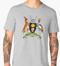 Uganda Coat of Arms Men's Premium T-Shirt