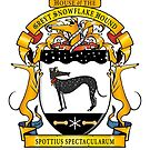 Greyhound Heraldry: Greyt Snowflake Hound by RichSkipworth
