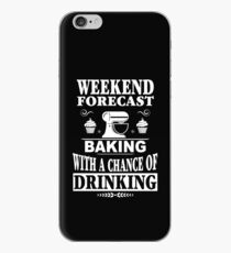 Weekend Forecast: Baking With A Chance Of Drinking iPhone Case