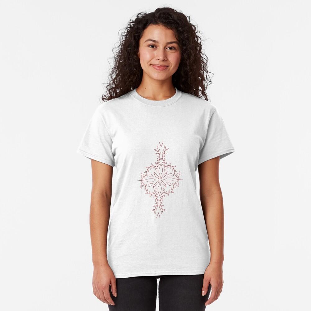 T-shirt classique «Motif mandala»