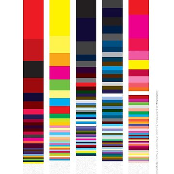 Emotionally}Vague – 5 emotion colour results by Orlaghobrien