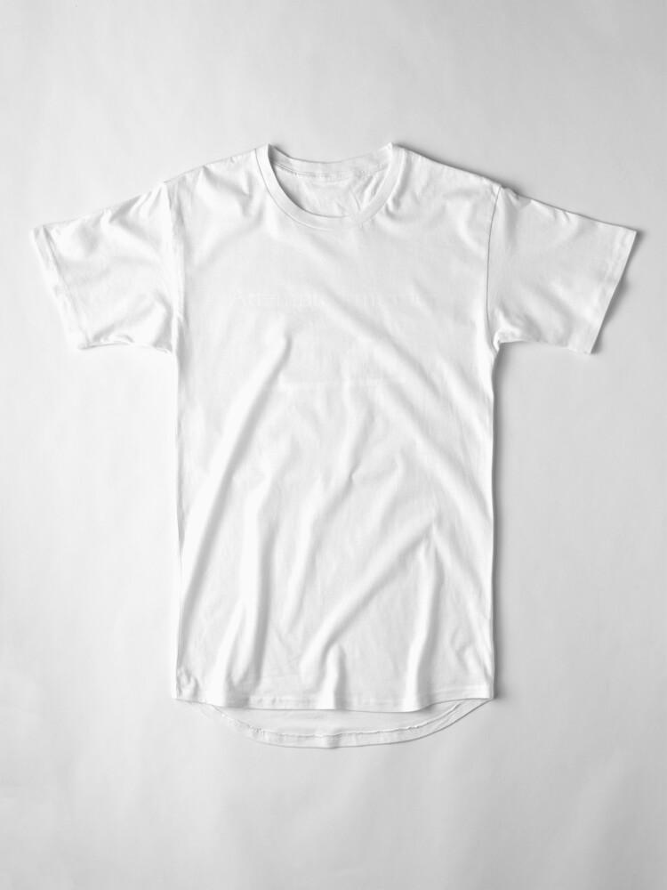Alternate view of Attempted Murder (White design) Long T-Shirt