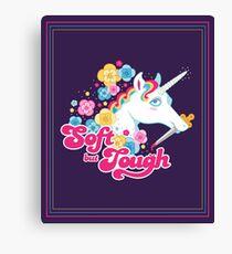Soft but Tough Canvas Print