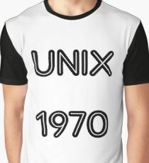UNIX 1970 Graphic T-Shirt
