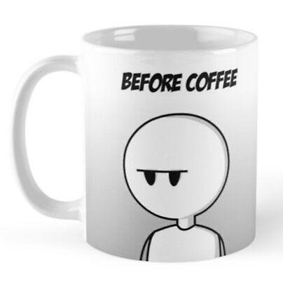 Before/After Coffee Mug by WarheadsComics