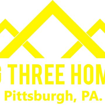 Big Three Homes (yellow 2) - This is Us by ktthegreat