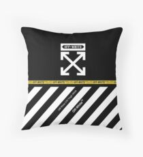 new performance off white Throw Pillow