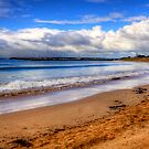 Clouds over Apollo Bay on the Great Ocean Road by Elana Bailey