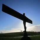 Angel of The North by diveroptic
