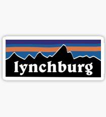 Lynchburg Mountains Sticker