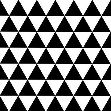 Black and white triangles by hellcom