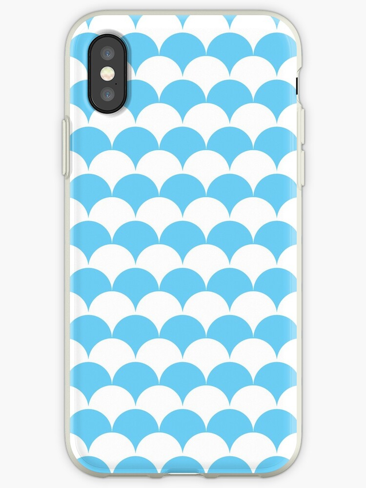 Light Blue Clamshell Pattern by Cool Fun  Awesome Time