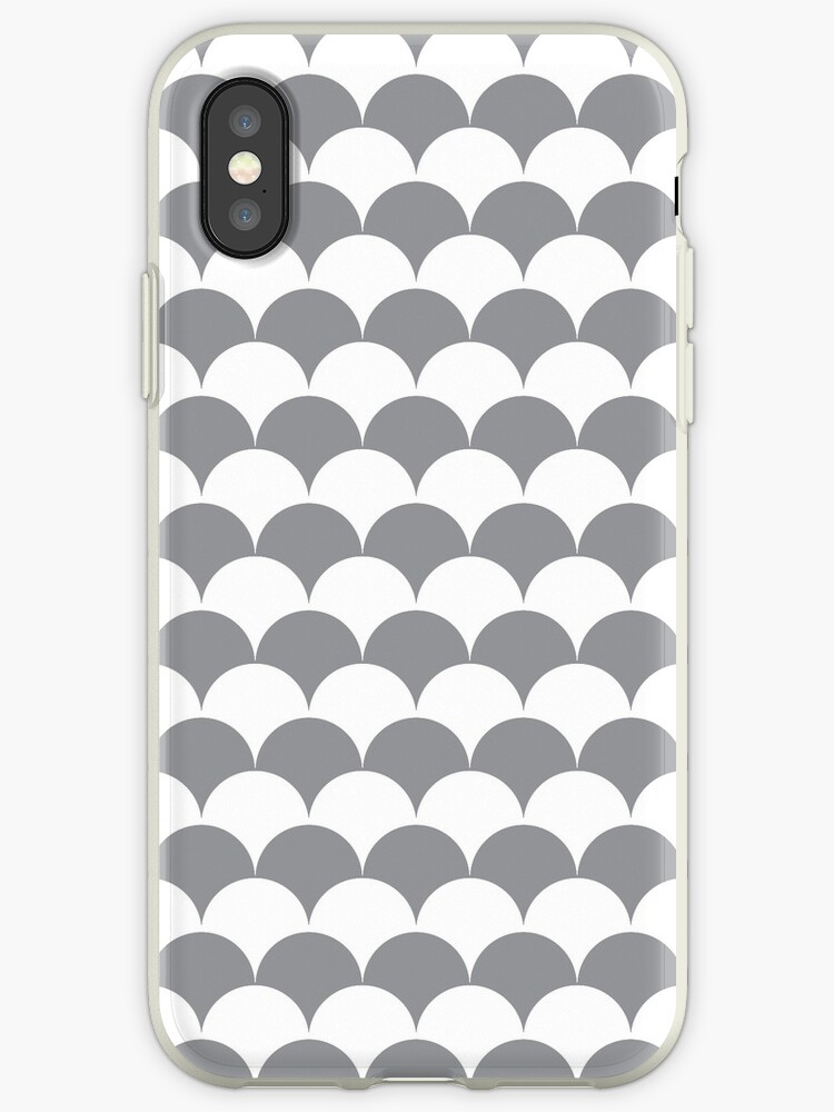 Grey Clamshell Pattern by Cool Fun  Awesome Time