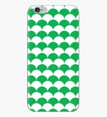 Green Clamshell Pattern iPhone Case