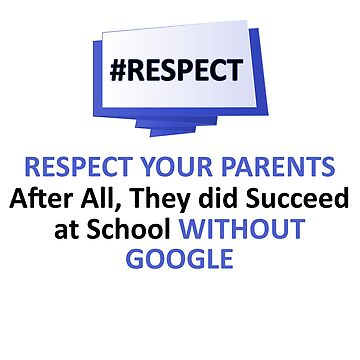 RESPECT YOUR PARENTS (FUNNY) by SmilerZOfficial