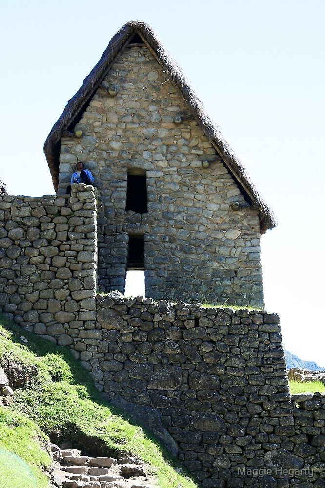 Stone shelter by Maggie Hegarty