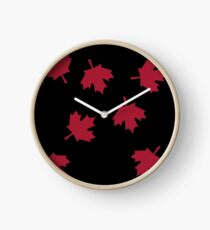 Maple Leaf Clock