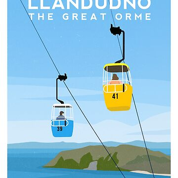 Llandudno Cable Cars - The Great Orme, North Wales by typelab