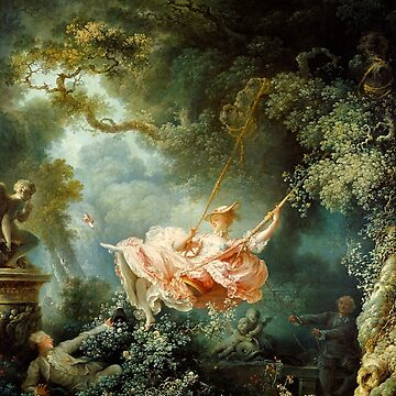 The Swing-Jean-Honore Fragonard by LexBauer