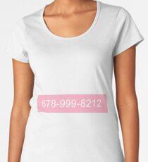 kiss me thru the phone Women's Premium T-Shirt