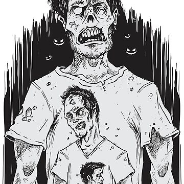 Happy Halloween Zombie Dead by leonardonado