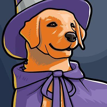 Witch Dog by jrdesign1