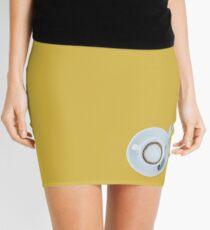 Cofee minimalistic Mini Skirt