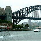 Sydney Harbour Bridge 2 by Maggie Hegarty