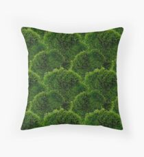 Moss - Green Luscious Mossy Texture - Full on Natural Moss Mounds - Earthy Greens -Turning Moss Green Pattern Throw Pillow