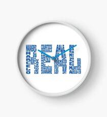 Real Madrid 2018 - 2019 Clock