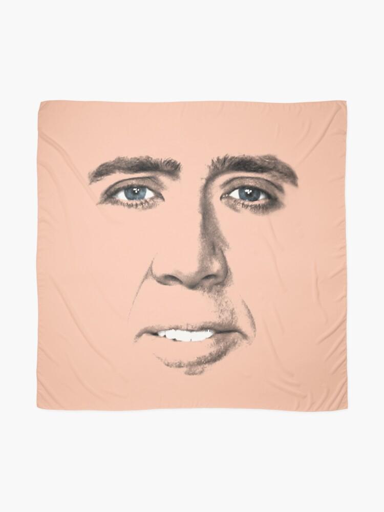 Alternative Ansicht von John Travolta Gesicht Tuch